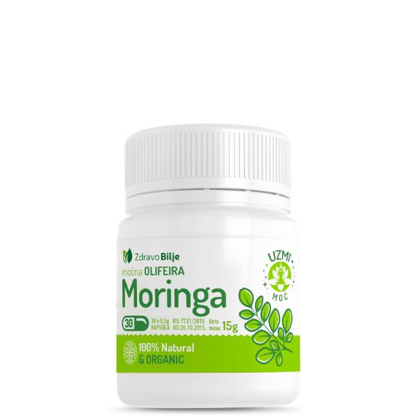 organska moringa oleifera kapsule 30 kom