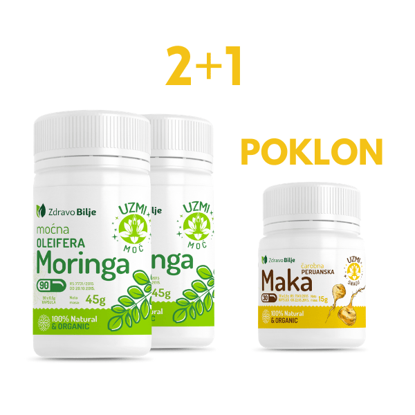 moringa oleifera i poklon peruanska maka